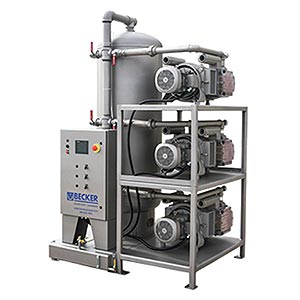 Advantage-D central vacuum system